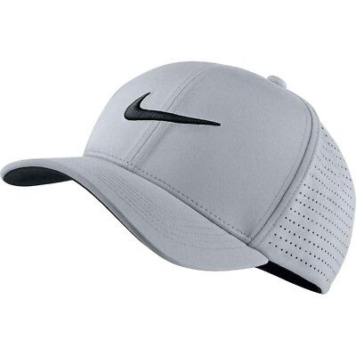 New Nike Golf Classic 99 Tour Perforated Fitted Cap Hat, Assorted Colors