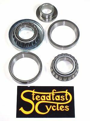 Triumph T150 T160 BSA A75 Tapered neck bearing steering set Trident 1969 - 75