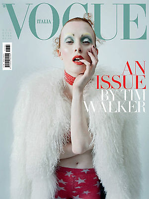 VOGUE Italia 12/2015 TIM WALKER Issue KAREN ELSON Iris Palmer EDIE CAMPBELL @New