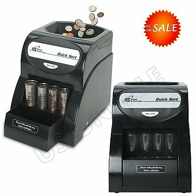 Penny Coin Sorter Money Counter Wrapper Machine Count Change Business Shop Bank