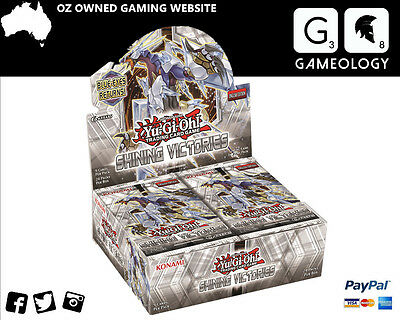 YuGiOh TCG Shining Victories Boosters Box Trading Card
