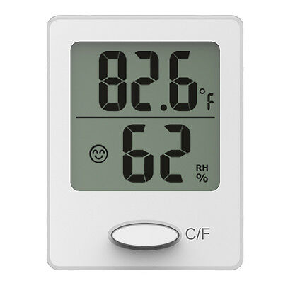 Baldr Magnet Wall Thermometer Hygrometer Digital Indoor Temperature Sensor