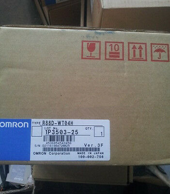 Omron Driver R88D-WT04H NEW