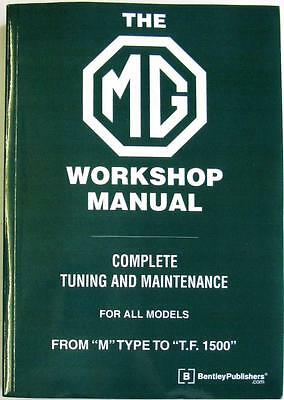 The Mg Workshop Manual Complete Tuning And Maintenance For All Models - Blower