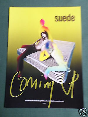 Suede - Magazine Clipping / Cutting- 1 Page Advert