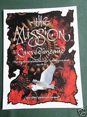 The Mission - Magazine Clipping / Cutting- 1 Page Advert