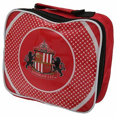 Sunderland AFC Official Bullseye Football Lunch Box Cool Bag Red