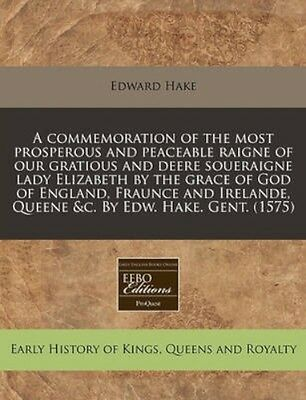 NEW A Commemoration Of The Most Prosperous And... BOOK (Paperback / softback)