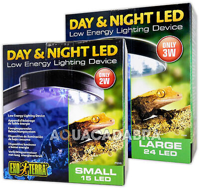 Exo Terra Day & Night Low Energy Light Small 15 Led Reptile Amphibians