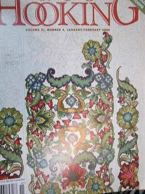 Rug Hooking Magazine January February 2000 Cup Of Herb Tea Free Pattern/Instruct