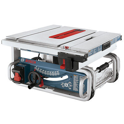 Bosch GTS1031-RT 10-Inch All-Steel Portable Jobsite Table Saw  - Reconditioned