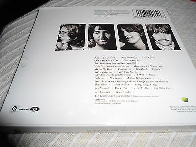 THE BEATLES - The Beatles White Album 2 X CD Enhanced Remastered Gatefold SEALED