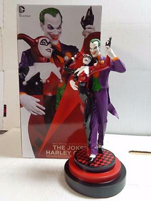 DC Collectibles JOKER & HARLEY QUINN 2nd Edition Painted Statue LIMITED AWESOME