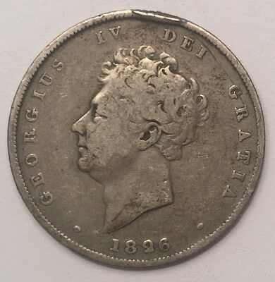 1826 George IV Shilling coin - Free Postage