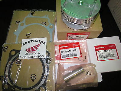 Genuine Oem Honda Piston Top End Kit With Gaskets Xr650R  2000-2007