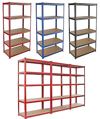 Warehouse Racking Garage Shelving Unit Steel TUV Rated