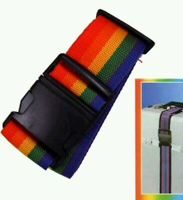 NEW Luggage Suitcase Lock Belt Strap Travel Baggage Tie +FREE POSTAGE