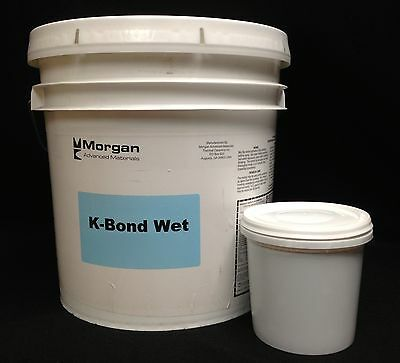 Mortar Cement K-Bond Wet 3000F Thermal Ceramic Fiber Firebrick Forge Kiln 2 lbs