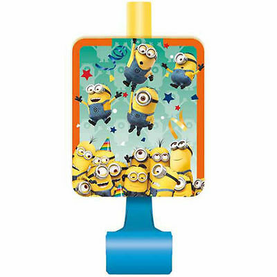 Despicable Me Minions 8 Party Blowouts Paper Goods Party Supplies