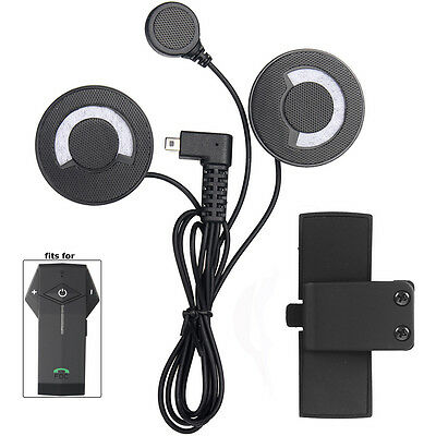 Headphone/Headset+Clip For Motorcycle Full Face Helmet Bluetooth Intercom COLO