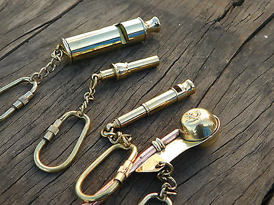 Whistle Gift Set- Scout's Whistle, Bosun Pipe, Christmas Gift, New Year Gift