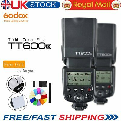 UK Godox TT600s GN60 2.4G Camera Flashgun Speedlite for Sony MI Hot Shoe Camera