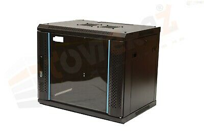 FLAT PACK 6U Data Wall Cabinet 450mm depth server rack 19inch server 36cm H