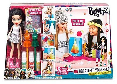 Bratz Doll Fashion Playset Create It Yourself With Doll New Retail Boxed