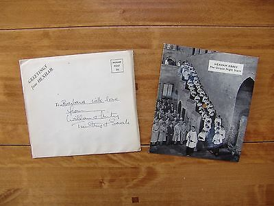 "7"" 78 PRIVATE / HARDY-SV2-78 ""Greetings From Hexham"" ft Owen Brannigan ADDRESSED"