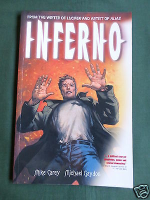 Inferno  - Graphic Novel - Softcover  - Titan Books Uk -2003