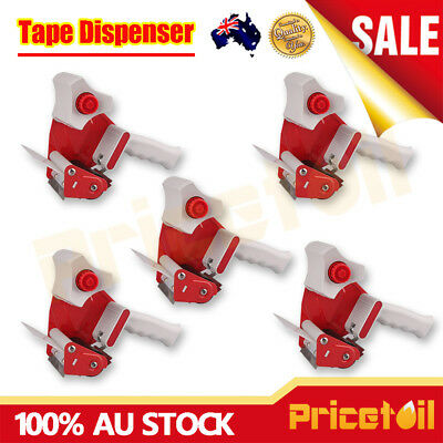 5Pcs Packing Tape Dispenser Gun 48mm Roll Sticky Packaging Dispenser Low Noise
