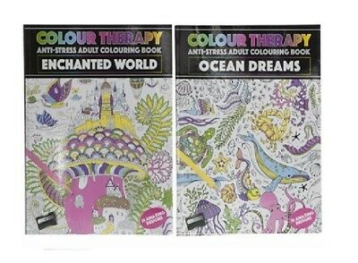 Adult Colouring Books Patterns Colour Therapy  EDITION 30 Pages Designs Relax