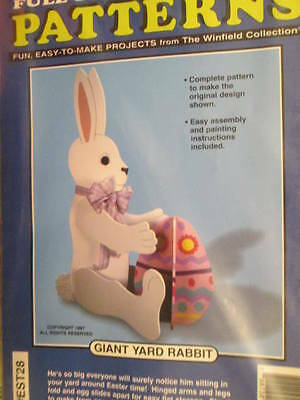 Winfield Collection Full Size Giant Yard Rabbit Woodcraft Pattern #EST28