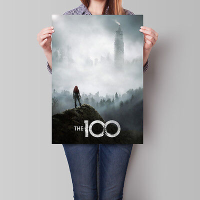 The 100 Poster TV Series Season 3 Promo Eliza Taylor A2 A3 A4
