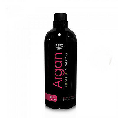 Black Magic Spray Tanning Solution - Argan Tan 15% DHA