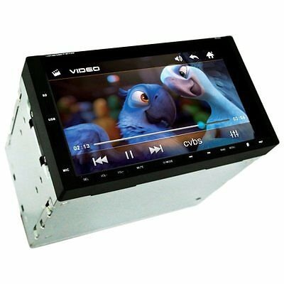 Ultra 7Inch Touch Screen 2 DIN Car Stereo MP3 Player Audio Video Bluetooth Radio