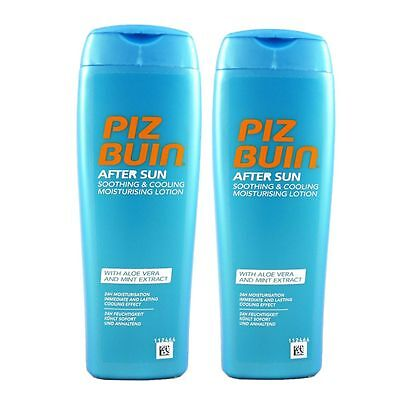 Piz Buin After Sun Soothing & Cooling Lotion 2 x 200 ml Set