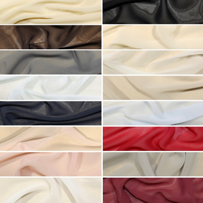Windy Chiffon Fabric 100% Polyester Dressmaking Dress Material
