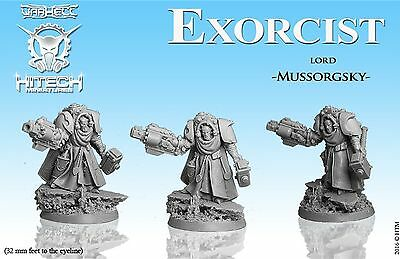 HiTech Miniatures Exorcist Lord Mussorgsky (28mm)   Exorcists    Sci Fi Tabletop