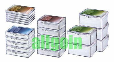 Ultra Pro HINGED DECK BOX 5 SCATOLINE PORTA CARTE MAGIC MTG FOW Pokemon Yugioh