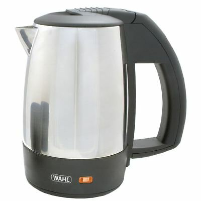 Wahl 0.5 Litre 1Kw Stainless Steel Travel Kettle With 2 Travel Cups ZX643 New