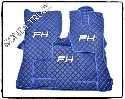 ~ Eco Leather~ Engine Cover And Floor Mats For Volvo Fh 14