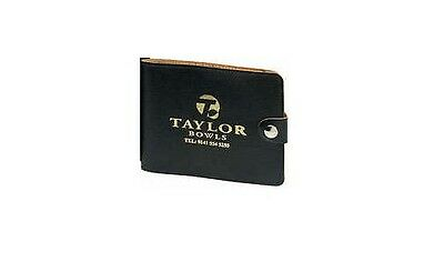 Taylor Soft Leather Bowling Score Card Holder