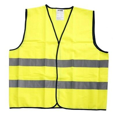 Halfords Essentials Hi Vis High Visibility Vest Safety Emergency Breakdown
