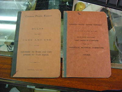 two vintage booklets canadian pacific railway 1902