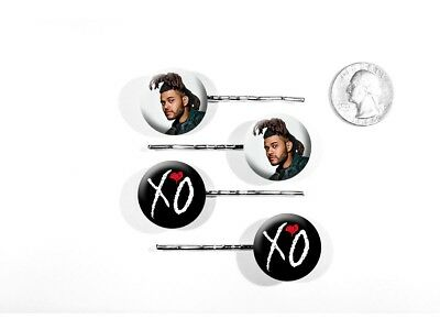 The Weeknd Echoes of Silence Can't Feel My Face Set of 4 Bobby Pins