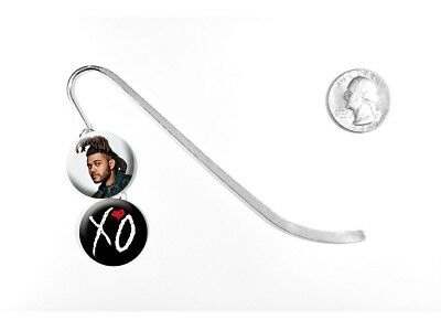 """The Weeknd Echoes of Silence Can't Feel My Face 5"""" Silver Bookmark"""