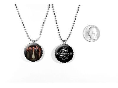 OneRepublic Rock Pop Band Stop and Stare 2 Sided Necklace