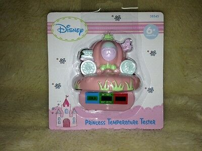 LOT (2) Disney Princess Temp Tester Age 6+ mths New Cinderella Carriage Pink