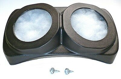 S I CENTRA-POD NO SPEAKERS ENCLOSURES BOXES with HARDWARE 55-95 CJ YJ 91970